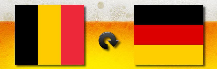 Dal Belgio alla Germania