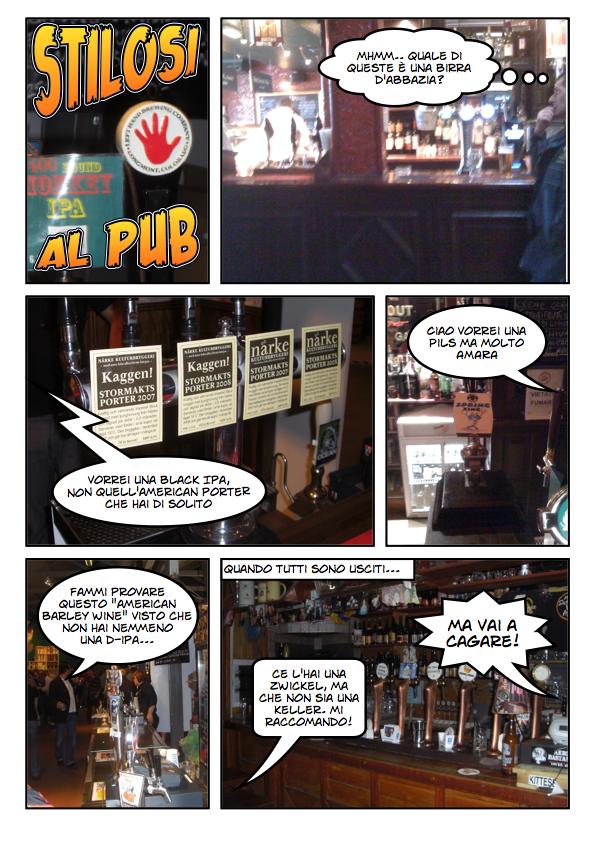 Stilosi al Pub
